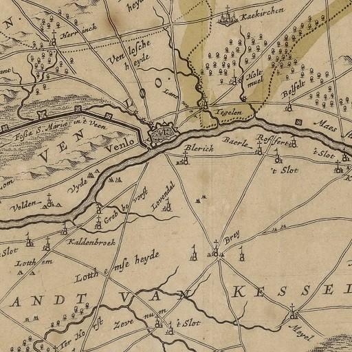 Kaart van Ambt Montfort